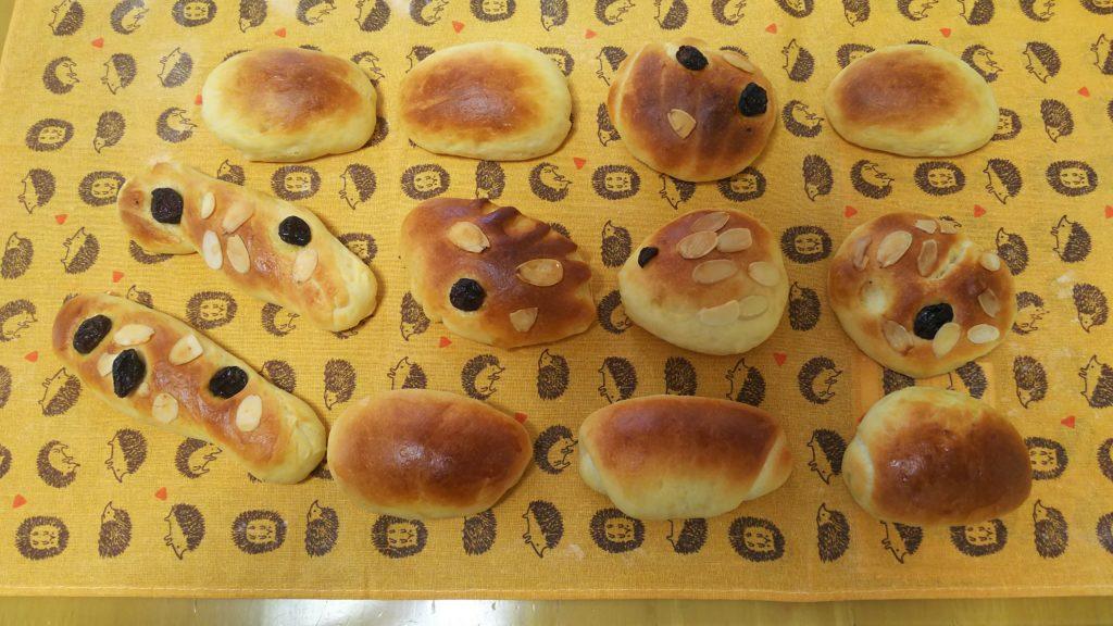 子供とホームベーカリーでパン作り・焼き上がり