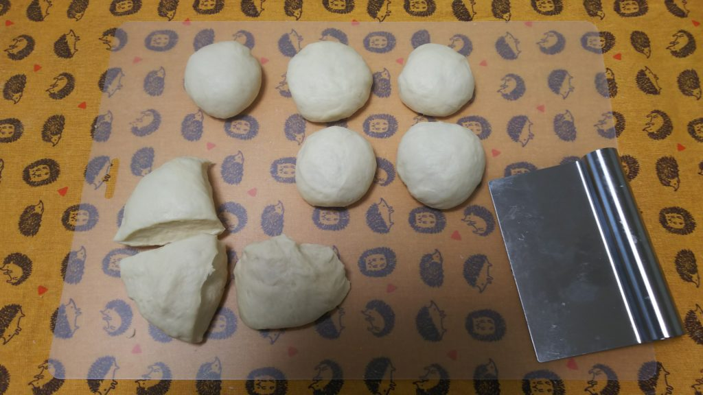 日本一適当なパン教室・パン生地・分割