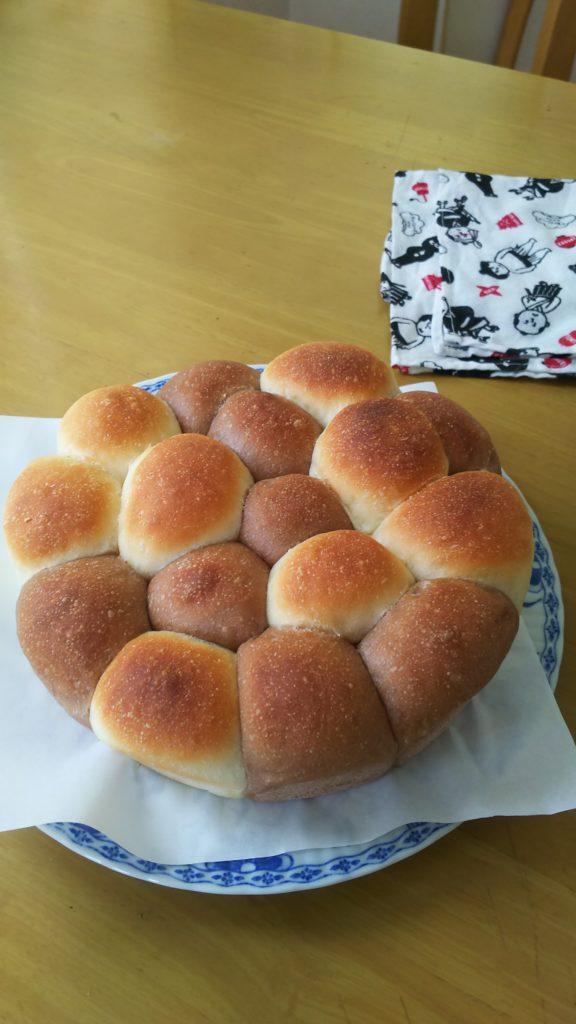 日本一適当なパン教室のパン・オセロパン