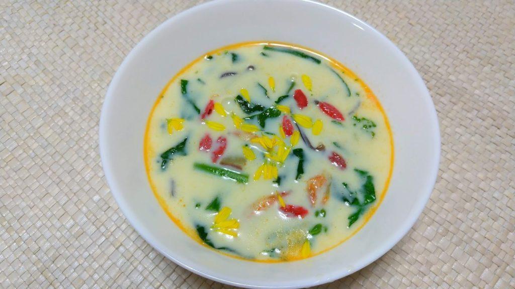 和風豆乳スープ