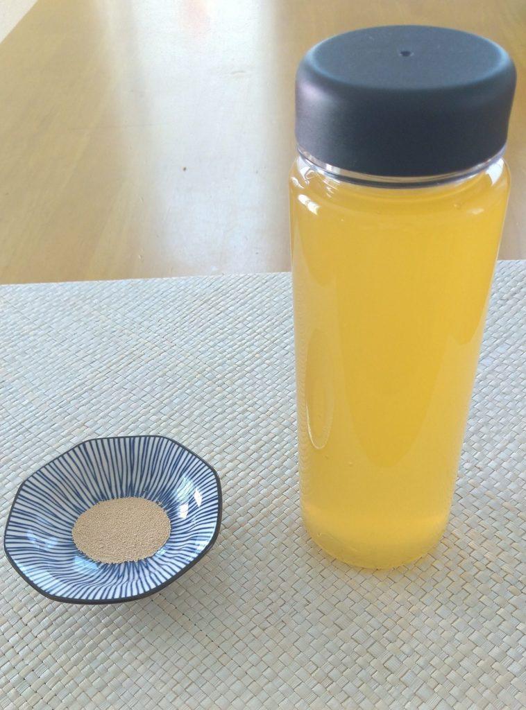 炭酸ジュース材料