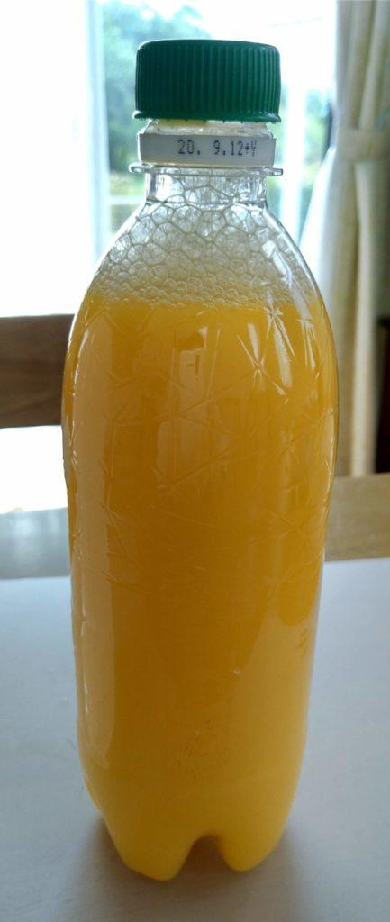 酵母炭酸ジュース