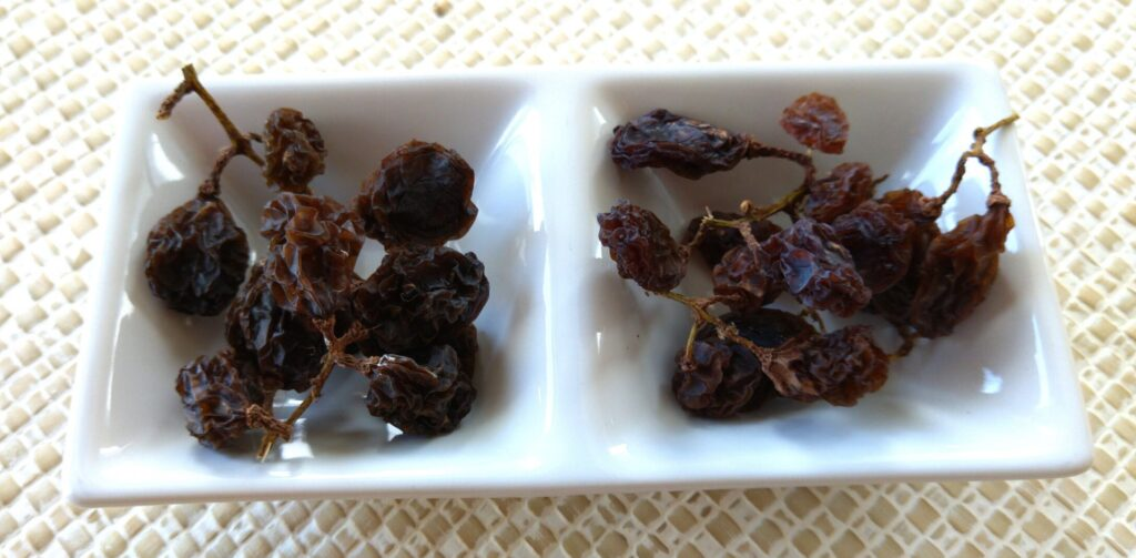 枝付き干し葡萄