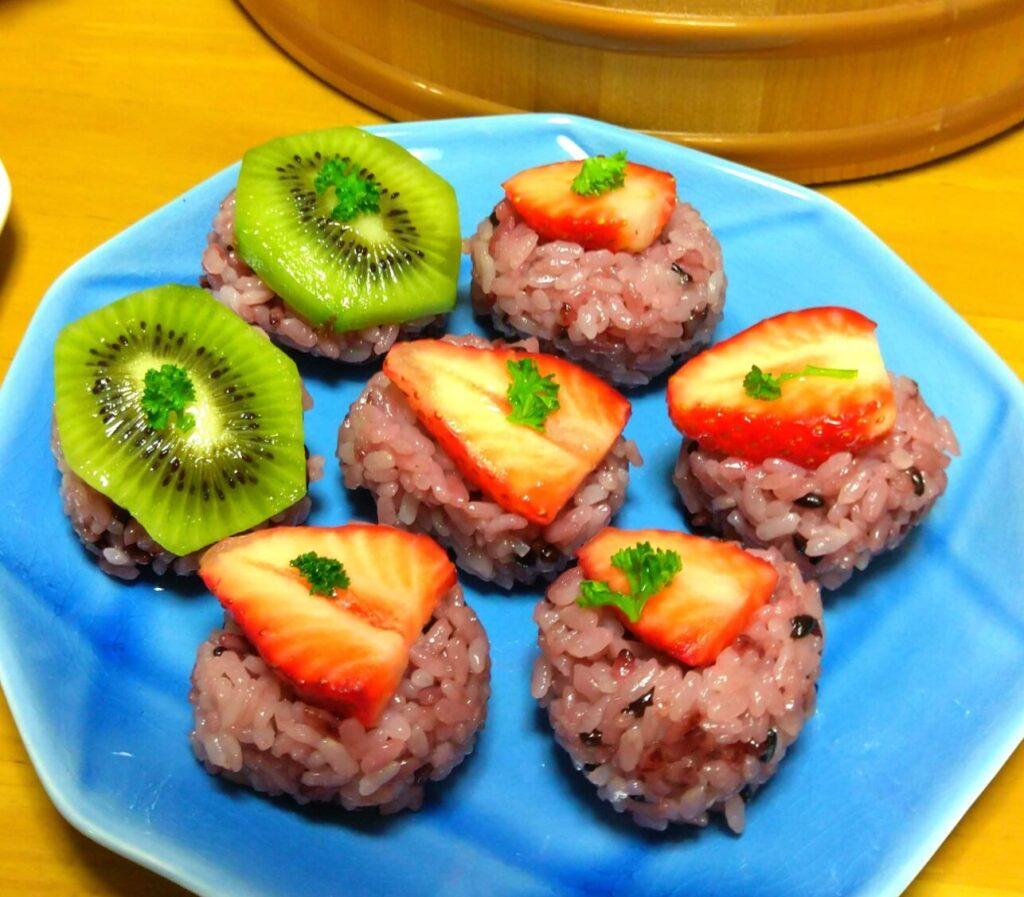 【春の手まり寿司】フルーツをのせた新感覚!デザート寿司レシピ!!